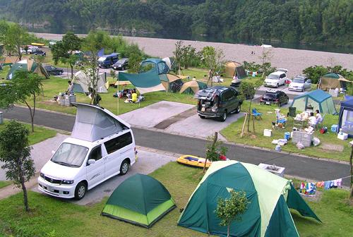 四万十独木舟和露营的家乡kawarakko