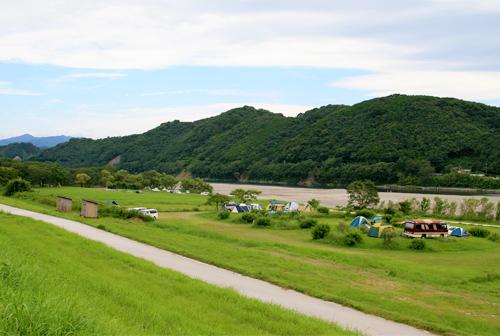 四万十川露营地
