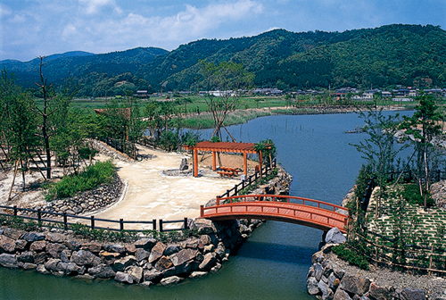 Shimanto River wild bird nature park