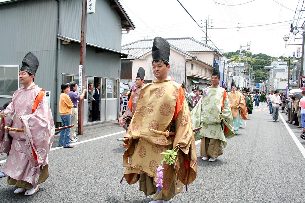 ≪春・ カルチャー ≫    土佐一條公家行列「藤祭り」