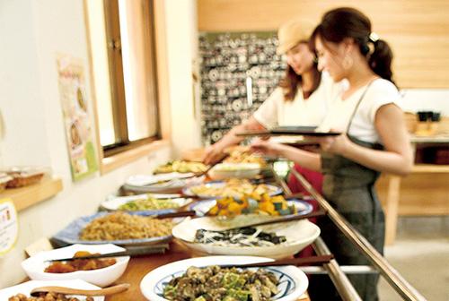 Farmhouse restaurant shaenjiri